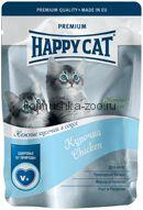 Happy Cat Для котят Курочка с морковью в соусе