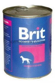 Brit консервы для собак Сердце и печень
