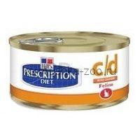 Hills PD Feline c/d консервы для кошек