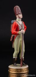 Рядовой 87-го пехотного полка, 1793, Rudolf Kammer, Rudolstadt, Фолькштедт (Volkstedt), Германия
