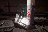 Трафареты из полиэфирного пластика ПЭТ, толщиной 0,75мм