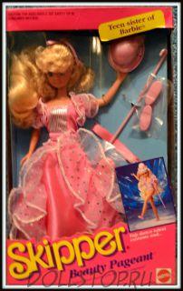 Коллекционная кукла Скиппер Конкурс Красоты - Skipper Beauty Pageant