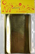 Фольга для дизайна №10 Золотая, Размер - 7 см х 1 м