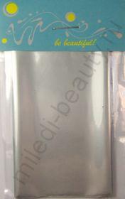 Фольга для дизайна №05 Серебряная, Размер - 7 см х 1 м