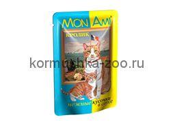 МонАми консервы для кошек Кролик