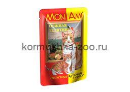 МонАми консервы для кошек Телятина