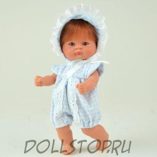 Коллекционная кукла ASI Пупс Бомбинчини с веснушками 2014 - Bomboncín con ranita vichy azul ASI