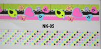 3D-наклейки на клеевой основе для дизайна ногтей, NK-05