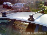 Багажник на крышу Mazda 6 (до 2013г.), Атлант, прямоугольные дуги