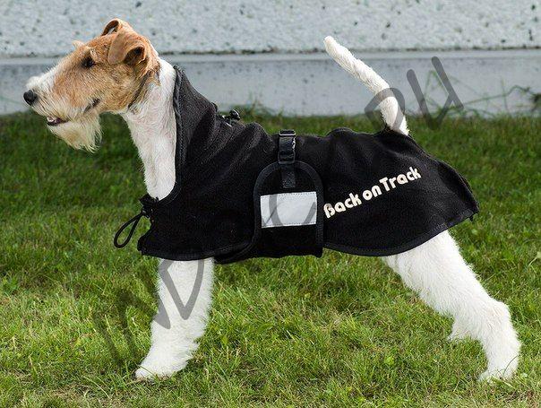 Флисовая попона Back on Track для собак