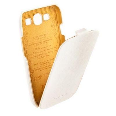 Чехол HOCO для Samsung i9300 Galaxy S3 - HOCO Leather Case White