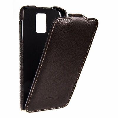 Чехол Melkco для Samsung Galaxy S5 -  Brown