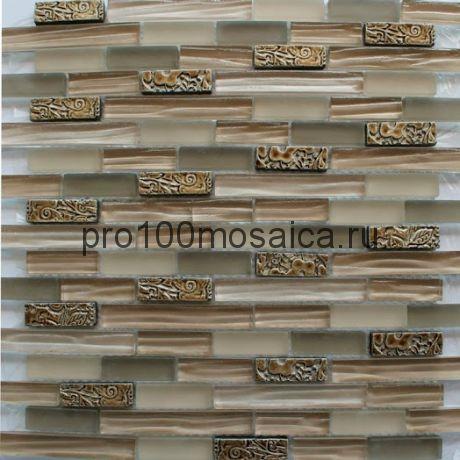 SZ-003 (8мм)  Мозаика серия EXCLUSIVE,  размер, мм: 300*300 (КерамоГраД)