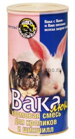 Вака ЛЮКС корм для шиншилл и кроликов