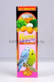 """""""Катрин"""" палочки для волнистых попугаев медово-яичные"""
