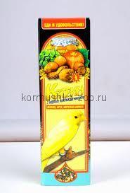 Катрин палочки для канареек орех/яблоко/морская капуста