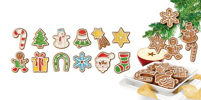 Формочки Рождественские украшения DELICIA, 12 шт 630917