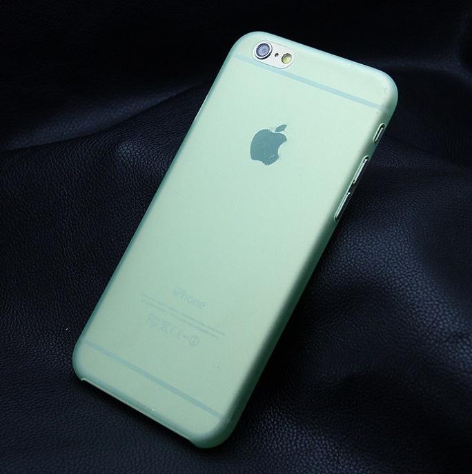 Ультратонкий чехол для iphone 6 (5.5) зеленый