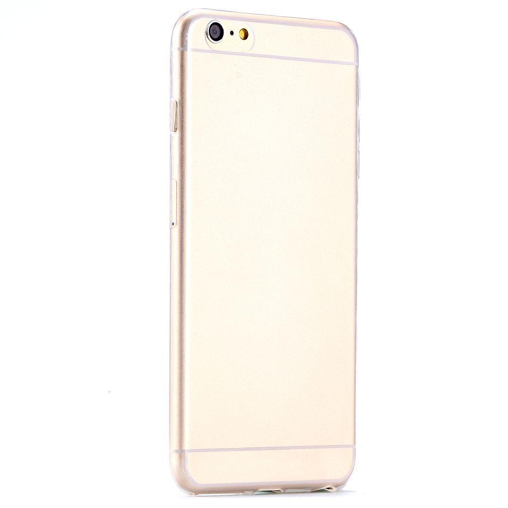 Силиконовый чехол для iphone 6  5.5 (прозрачный)