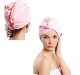 Шапочка полотенце для сушки волос