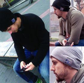 Зимняя шапка со встроенной Bluetooth-гарнитурой