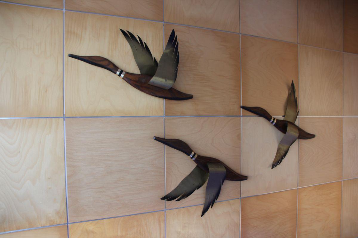Винтажный настенный декор Flying Ducks