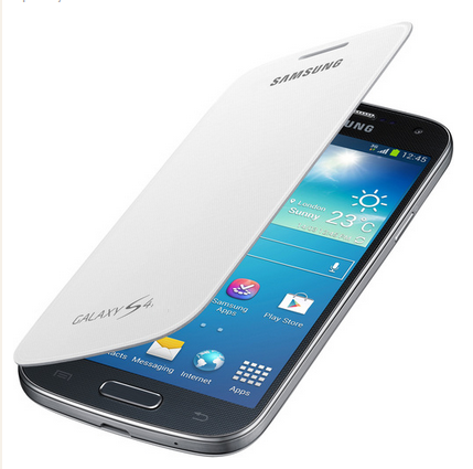 Чехол Samsung Flip Cover для Samsung GT- I9500 Galaxy S4 - White