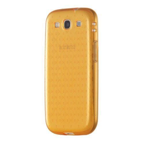 Накладка Animode Силиконовая для Samsung GT- I9300 Galaxy SIII- Orange