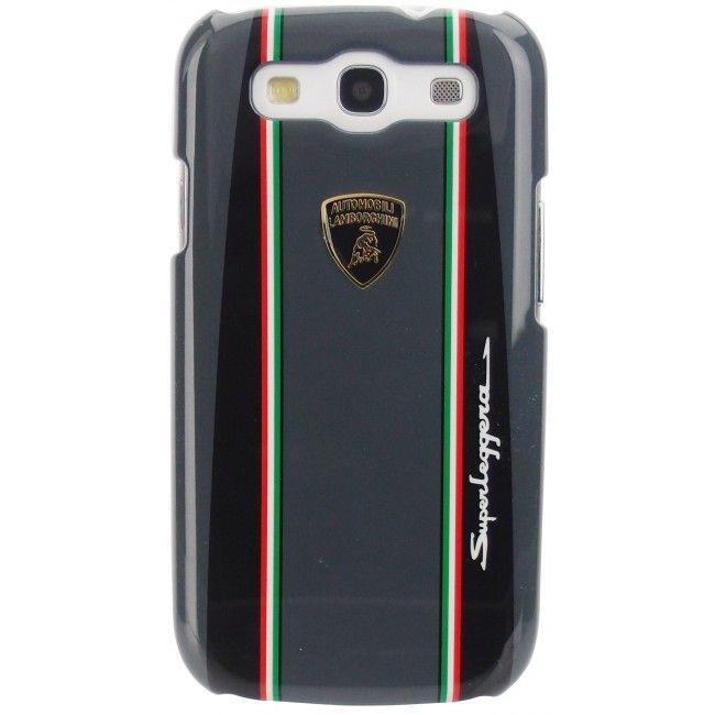 Накладка Lamborghini superleggera для Samsung GT-9300 Galaxy S III- Black