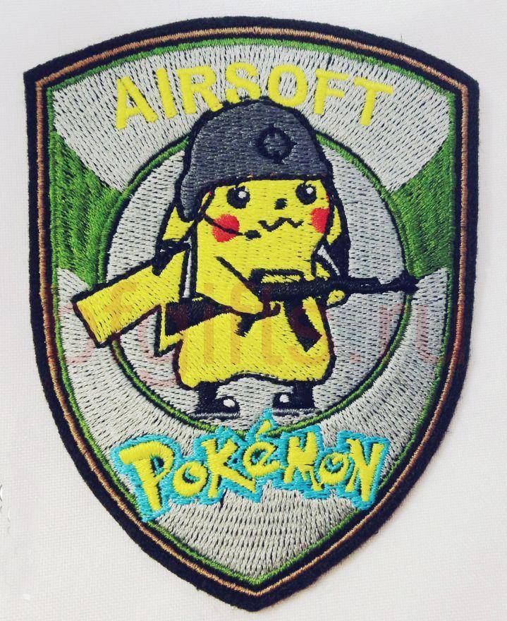 """Моральный патч """"Airsoft pokemon"""""""