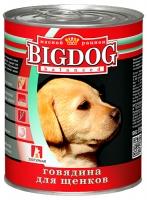 Зоогурман Big Dog Говядина д/щенков 850гр