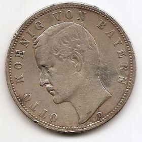 5 марок Бавария 1893 D