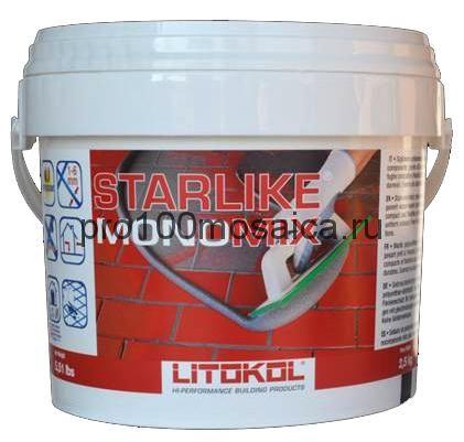 STARLIKE MONOMIX (1кг). Полиуретановый затирочный состав на водной основе, однокомпонентный (LITOKOL, Италия)