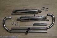 Выпускная система М-72 хром