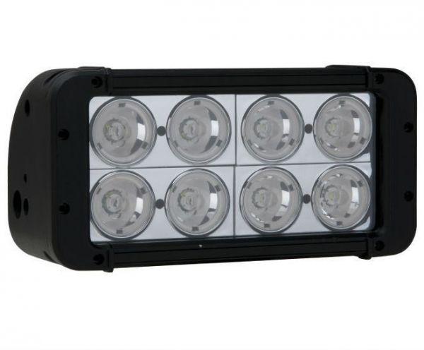 Двухрядная светодиодная LED фара - 80W CREE