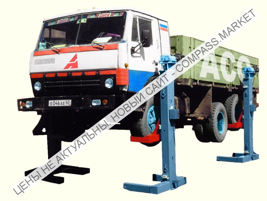 Подкатной подъемник ПП-20, Автоспецоборудование (Россия)