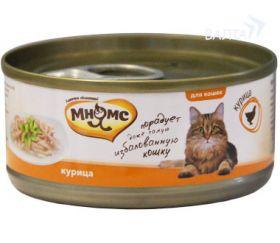 Мнямс Консервы для кошек Курица в нежном желе (70 г)