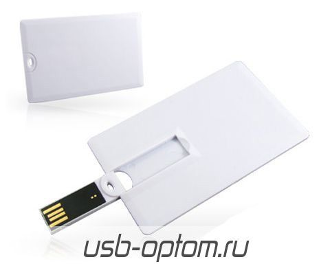 4GB USB Флешка визитка SUPERTALENT STUSB-CO-CD2 черная OEM