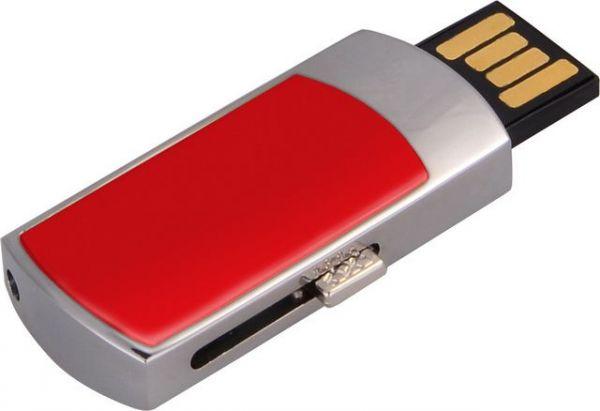 4GB USB-флэш накопитель Apexto U907 красный