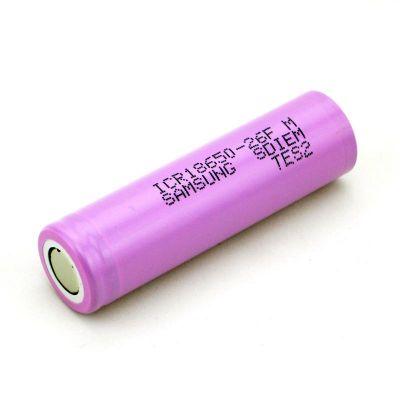 Аккумулятор Samsung 26F 18650 2600мАч без защиты