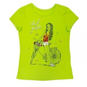 блуза лайм девочке