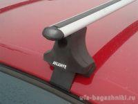 Багажник на крышу Volkswagen Jetta A5, Атлант, аэродинамические дуги