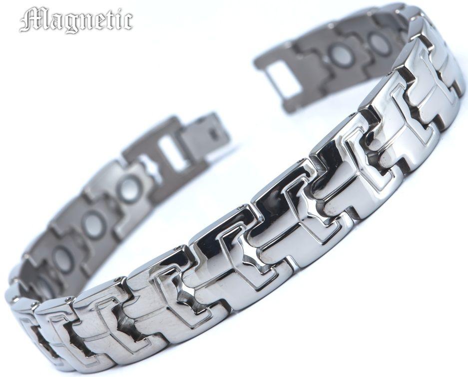 Магнитный браслет ST-008NT-Mj-steel