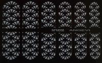 """Наклейки для ногтей """"Белые"""" NFM 008"""