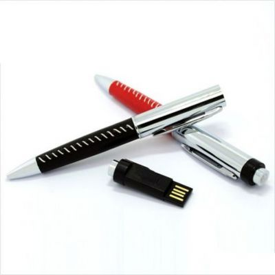 4GB USB-флэш накопитель Apexto U502Z ручка в красной оплетке