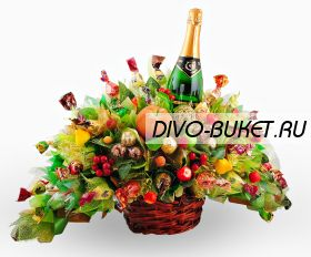 """Букет из конфет №400 """"Шампань"""""""