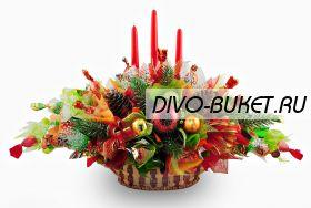 """Букет из конфет №401 """"Новогодний вернисаж"""""""