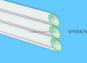 Труба 75мм стекловолокно VASEN полипропиленовая (трубы PPR-FB-PPR (PPR/Fb/PPR) полипропиленовые армированные)