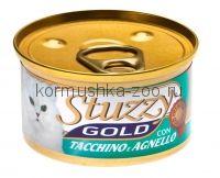 Stuzzy Gold консервы для кошек (мусс индейка/ягнёнок)