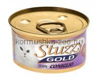 Stuzzy Gold консервы для кошек (мусс из кролика)